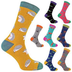 MR HERON - Mens Novelty Animal Bamboo Socks | Inc Sharks Turtles & Monkeys