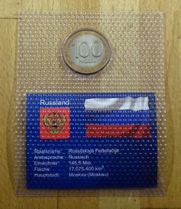 Russland - 100 Rubel - 1992 - unc + eingeschweißt
