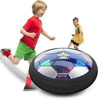 NEU Air Soccer Fussball LED Fußball Spielzeug Indoor Spiel Power Luft Luftkissen