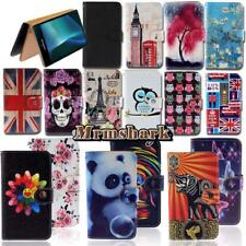 Flip Leather Wallet Card Stand Cover Case For Various Sony Xperia Phones