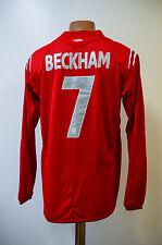 ENGLAND NATIONAL TEAM 2004/2005/2006 AWAY FOOTBALL SHIRT JERSEY UMBRO BECKHAM #7