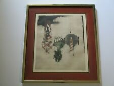 JOHNNY FRIEDLAENDER ETCHING RARE CUBIST CUBISM  VINTAGE  LIMITED SIGNED ABSTRACT