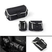 3PCS Rear Seat Storage Organizer Bags For 2018  Wrangler JL Rubicon A01