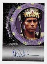 Stargate Premiere (1 to 3)  PETER WILLIAMS as Apophis Autograph Card A6