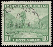 """CHILE 328 (Mi601) - View of Maule River Valley """"1962 Printing"""" (pa75812)"""