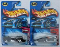 Hot Wheels Lot Of 2 2004 First Editions Hardnose 42 Crooze 69 Batmobiles
