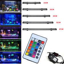 Aquarium Fish Tank Light RGB LED SubmersibleSMD RGB Strip Lights Bar  Waterproof