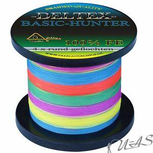 Deltex Basic Hunter Multicolor 0,25 14.7Kg 270M Rund Geflochtene Angelschnur Kva