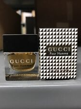 Gucci Pour Homme Men Mini 0.17 Oz/5 ML Eau De Toilette Splash New In Box