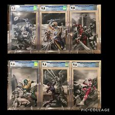 Power Rangers 50 CGC 9.8 & 9.6 Color Splash Variant Set Limited To 300 Copies