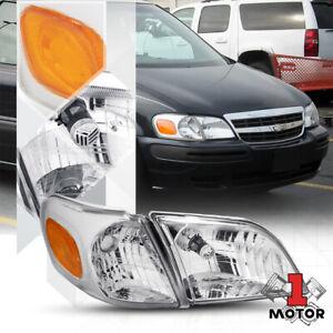 Right RH Passenger Side Chrome Headlight Lamp Assembly for 97-05 Montana/Venture