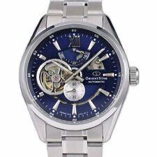 全新現貨Orient Star 東方星 Semi Skeleton Sapphire Blue Dial 自動 Watch 手錶 RE-AV0003L HK*1