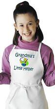 Kids Cooking Apron Grandma's Little Helper Children's Aprons by CoolAprons