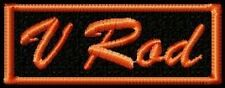 V ROD  BIKER PATCH