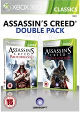 Xbox 360-Assassins Creed Brotherhood & revelaciones (2 Juegos) ** nuevo Y Sellado **