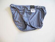 2 Vanity Fair Illumination Bikini Panty Vintage Slate 18108 Sz 6/M - NWT