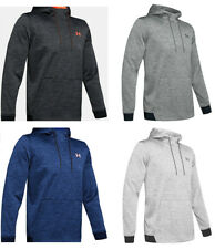 Mens Under Armour Coldgear Fleece Loose Fit Twist Hoodie M-3XL