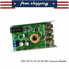 DC-DC Power Supply Module 24V/12V to 5V 5A Converter US Shipping