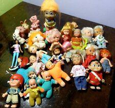 Lotto bambole piccole anni '70/80 No Furga Multimarca Doll Poupee Puppen Vintage