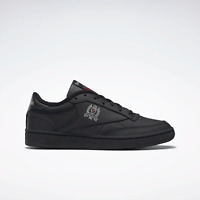 Reebok Club C 85 Leather Shoes in Black