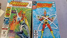 from JLA comic lot Firestorm 1982 1-11 14-43 vf bagged