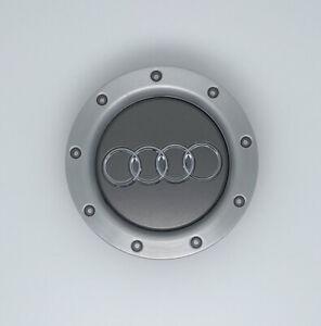 1 pieces Gray Aluminum Wheel Centre Caps Hub Cover For AUDI A4 A6 A8 TT 146mm OE