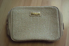 NEW Versace Parfums Women Cosmetic Makeup Case Clutch Toiletry Pouch Bag
