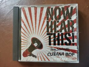 Terry Seabrook Cubana Bop, Now Hear This CD 2005 ex cond