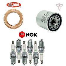 Tune Up KIT Plugs Oil Filter Gasket for Infiniti QX60 V6; 3.5L 2014