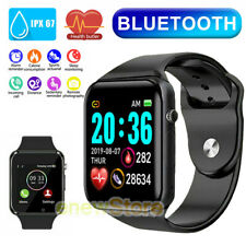 A1 Blue-tooth Smart Watch & Phone with Camera For iPhone Android Samsung LG HTC
