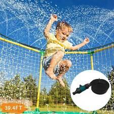 Trampoline Sprinkler Waterpark Water Sprinkler System Hose Tool for Kids Adults