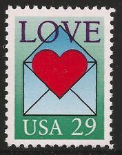 US Scott #2618, Single 1992 Love 29c VF MNH