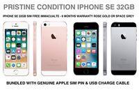 Apple iPhone SE 32GB Smartphone Unlocked Rose Gold & Space Grey Grade A Stock