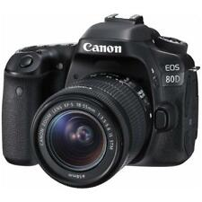 "Canon EOS 80D 18-55mm 24.2mp 3"" Brand New"