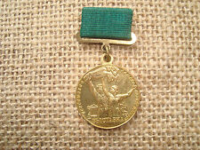 SOVIET RUSSIAN USSR PIN Medal ORDER Badge Participant of All-Union Agriculture
