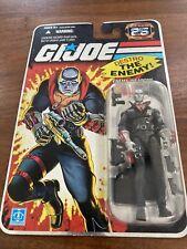 GI JOE 25TH ANNIVERSARY, Destro, Enemy Weapons Supplier~New~ 2007 Hasbro