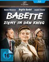 BABETTE ZIEHT IN DEN KRIEG (BL - BARDOT,BRIGITTE   BLU-RAY NEUF