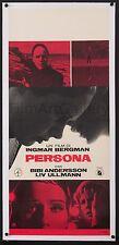 PERSONA '66 Italian poster linenbacked Ingmar Bergman Liv Ullmann Filmartgallery