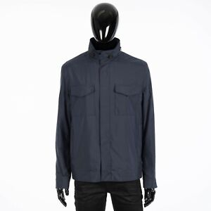 LORO PIANA 2875$ Windmate Traveller Bomber Jacket Technical Fabric Storm System