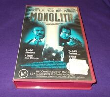 MONOLITH VHS PAL BILL PAXTON LOUIS GOSSETT JR.
