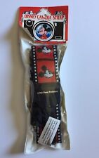 Disney Mickey Mouse Camera Strap With Film Holders Red Vintage Collectible