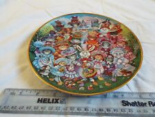 FRANKLIN MINT EASTER PURRADE PLATE (315)