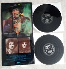 "JIMI HENDRIX LP ELECTRIC LADYLAND ORIG UK TRACK ""BLUE TEXT"" 1st PRESS EX VINYL"