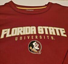 Champion Florida State University Seminoles FSU Crewneck Sweatshirt Men's Sz XL