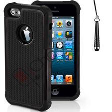 Housses et coques anti-chocs simples en plastique rigide iPhone SE pour téléphone mobile et assistant personnel (PDA)
