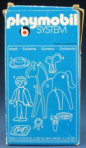 PLAYMOBIL 3342 - Cowboy mit Pferd - Western - 1975 (V1) - in OVP / Lineart-Box