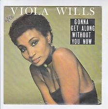 "Viola WILLS Vinyl 45T 7"" GONNA GET ALONG WITHOUT YOU NOW -ARIOLA 106479 F Rèduit"