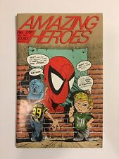 AMAZING HEROES 179 Todd Mcfarlane Spider-Man Cover Interview Spawn 1990