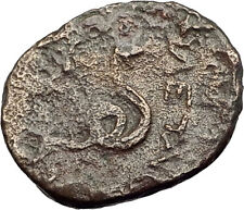 PERGAMON in MYSIA 281BC Philetairos Ancient Greek Coin ATHENA & SERPENT i62425