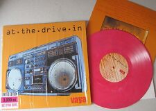 "At the Drive-in-Vaya 10"" LIMITED VINILE ROSA Mars volta antemasque Sparta"